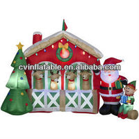 Christmas Decoration Supplies,Air type Type and Indoor Christmas Decoration Christmas Item Type Inflatable snowman