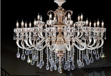 elegent crystal lamp contemporary Chandelier light for Hotel lighting