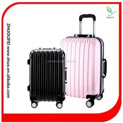 fashion wholesale turn 360 wheels girls travel luggage