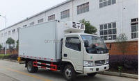 LHD/RHD factory New Dongfeng 2T-3T mini refrigerated truck for sale hot in Cambodia Market