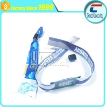 Customized unajustable woven wristband with High frequency and Low frequency