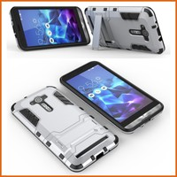 Combo tpu pc slim armor mobile phone case for asus zenfone ze550kl