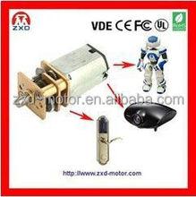 N20 geared N20 dc motor for automatic door locker