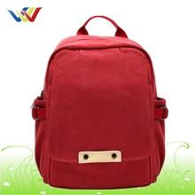red waterproof canvas sexy girls school bag