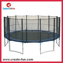 CreateFun factory 15FT Round Trampoline with Long Pole And Safety Net for European Market