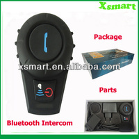 High quality 500m Wireless Bluetooth Motorcycle Helmet Headset Intercom