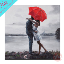 Hot sale modern paintings of portrait for living room