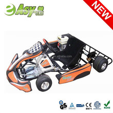 Easy-go hot 200cc/270cc 4 wheel racing 36v electric go kart with plastic safety bumper pass CE certificate