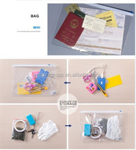 plastic packing bag with zipper lock A4/A5size