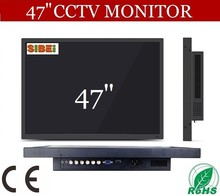 """47"""" easy install high definition lcd monitor with bnc av dual input"""