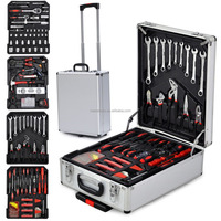 186pcs aluminum case Mechanics tool kit