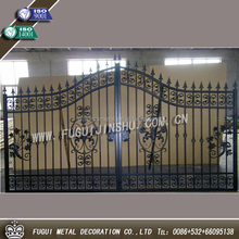 Widely used for Home and Garden decorations wrought iron gate