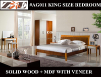 MODERN WOODEN DESIGN DOUBLE BED