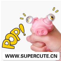 2015 the ltest gift Vinyl bulk popeyes squeeze tricky anti stress cartoon animal pet toy