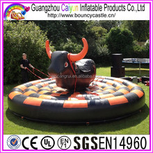 Newest inflatable rode bull