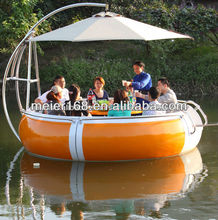 BBQ Plastic restaurant boat for sale