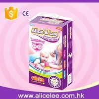 Alice & Lee / OEM good Quality Disposable sleepy baby diaper