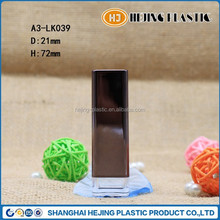 Hot sale empty Lipstick tube with clear base