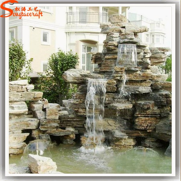Available for export indoor wall waterfall artificial for Artificial waterfalls design