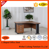 Melamine office table table with side cabinet laptop computerdesk