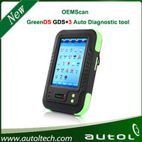 Newest Original Touch Screen OEMSCAN GreenDS GDS with Printer Update ONline much better than g scan and DS708 diagnostic tool
