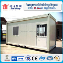 container house with wheels prefab container house