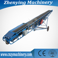DY reversible high inclination angle hopper belt conveyor