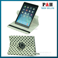 The flip leather smart cover case for ipad 2 wallet Design Leather Case holster folding