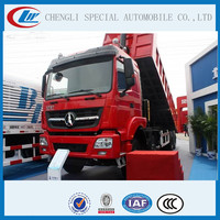 Heavy loading capacity good performance 6X4 North benz Dump Truck 30 ton, 40 ton, 50ton, 60 ton Beiben Sand Tipper Truck tipping