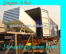 Decorative gypsum board drywall