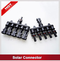 IP67 cetified TUV UL MC4 compatible solar connectors for solar panel dc connector socket for solar pv system
