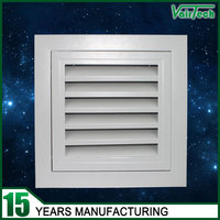 Ventilation fixed door core hinged type areturn air vent filter grille