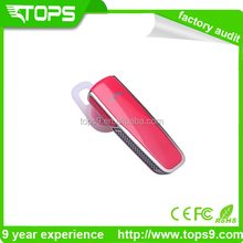 bluetooth wireless cell phone headset+stereo+music play