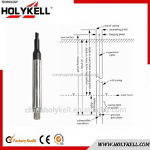 China supplier HOLYKELL HPT607 19in Diameters PROBE LIQUID 4-20ma level transmitter fuel level sensor water depth meter