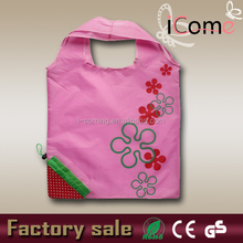 Hot selling drawstring bag with flower print(ITEM NO:F150695)