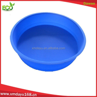 Round Shape Silicon cake mold, Microware Oven silicone bake pan