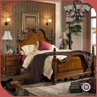 wood classic latest bedroom set, fashionable design bedroom furniture