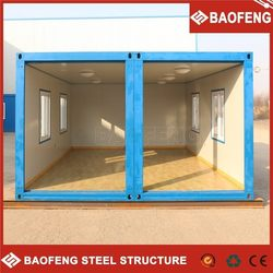 easy unloading prefabricated manufactured homes made in china