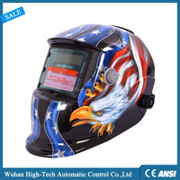 High-Tech Lowest Factory Price Solar Power Auto Darkening Welding Helmet with Wide Shade Range 4/9-13 with Grinding Feature