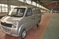 Lithium battery electric mini van Truck van Electric goods van for sale