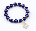 2013 nueva moda gancho de anclaje ronda pulsera pulsera de bolas para las mujeres