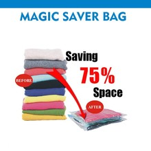 45*70cm vacuum storage bags for bedding and dress