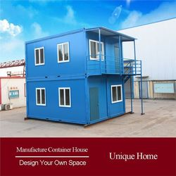 Convenient Assemble Prefabricated Container eps prefabricated living of portable villa house
