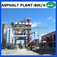 LB1000 Batching Type Asphalt Mixing Plant 80tph