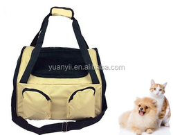 Luxury dog cat puppy pet cat seat carrier with harmness