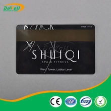 CR80 Standard rewrite smart card with magnetic strip