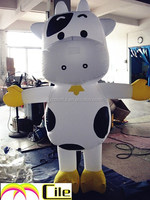 CILE 2015 hot selling customized inflatable milk cow cartoon