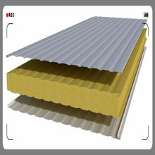 China roof sandwich panel installation