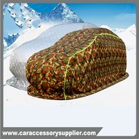 waterproof nylon fabirc 2015 padded hail proof car covers made in china