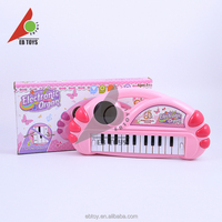 Music dream 3D lighting electronic organ music instrument toy for wholesale
